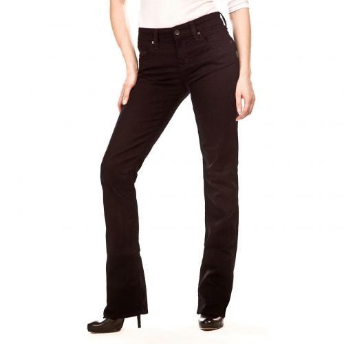 Mavi Mona Jeans Schwarz Bootcut