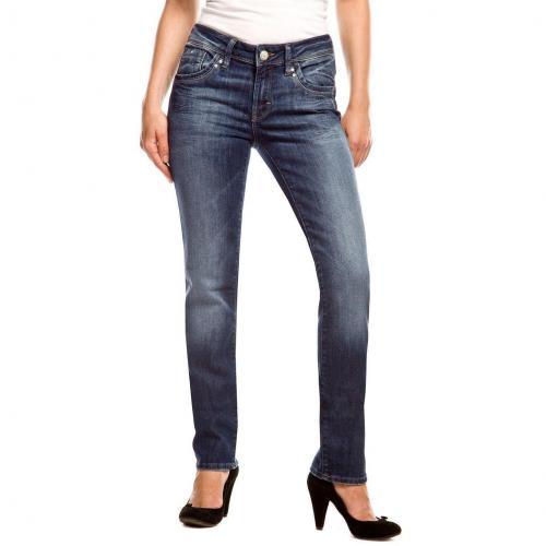 Mavi Sophie Jeans Slim Fit Dark Used