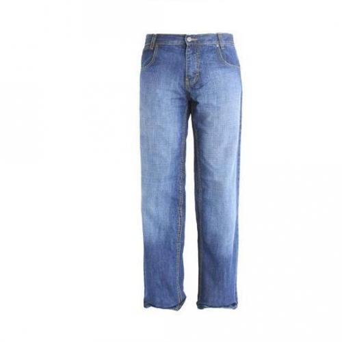 Mecca - Baggy MJ993-033 Medium Blue Blaue Waschung