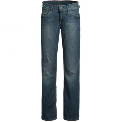 Mustang Girl`s Oregon Jeans Straight Fit Dark Used