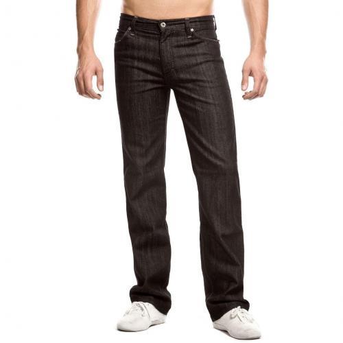 Mustang Tramper Jeans Schwarz Straight Fit