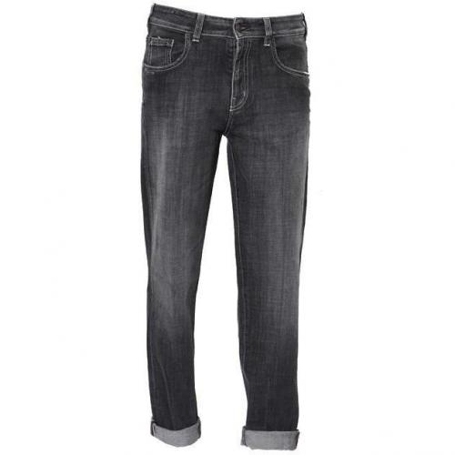Notify Boyfriend Jeans washed black