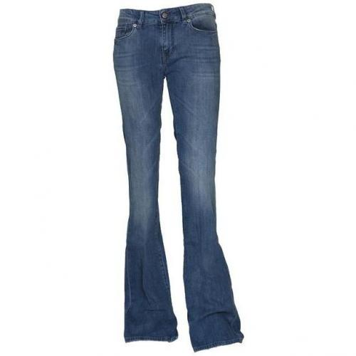 Notify Flared Jeans Bootcut blau