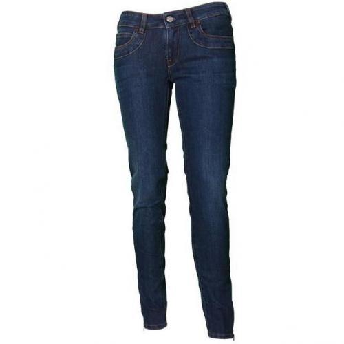 Notify Slim-Zip Jeans dunkelblau