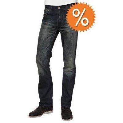 Nudie Jeans SLIM JIM Jeans used look blau coated