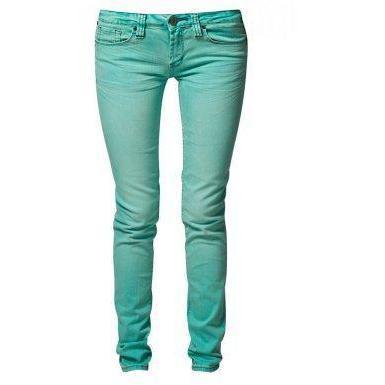 One grün Elephant KOSAI Jeans hellblau