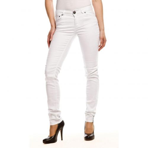 Only Ultimate Stretch Jeans Slim Fit Weiß