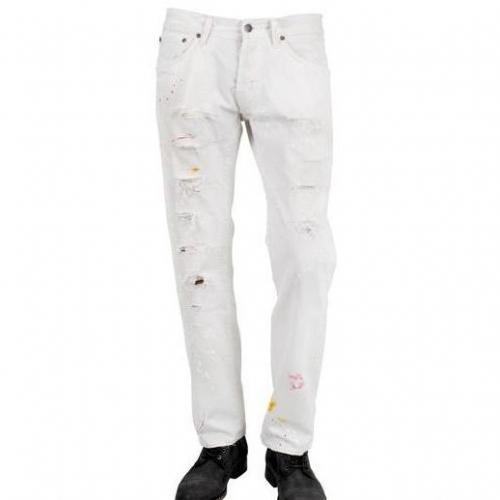 People - Jeans Im Destroyed Look
