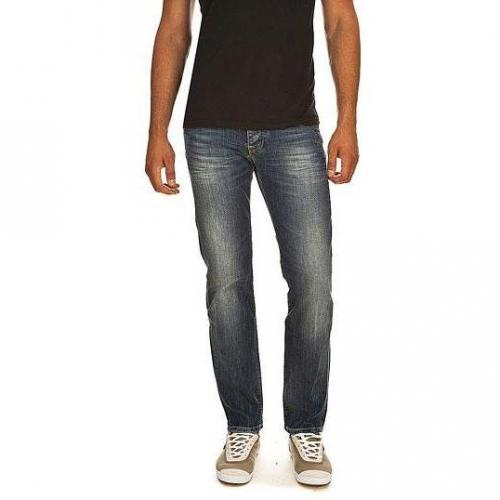 Pepe Jeans - Hüftjeans Cane X94 Blaue Waschung