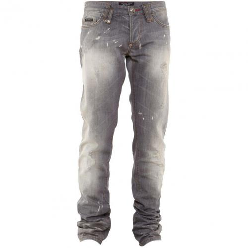 Philipp Plein Jeans Fight Denim Washed