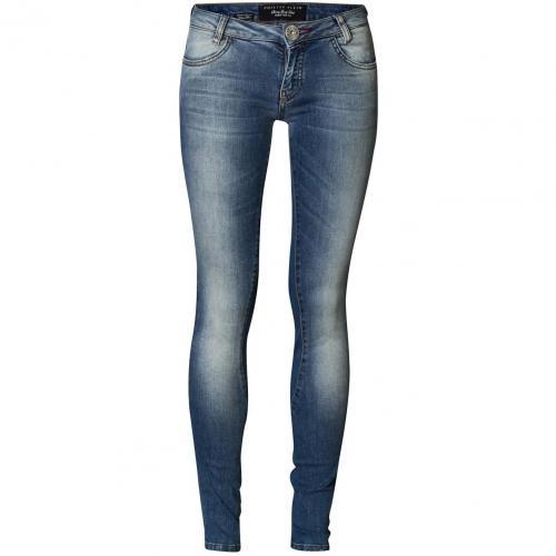 Philipp Plein Jeans Normal Skullicious Malibu Blue