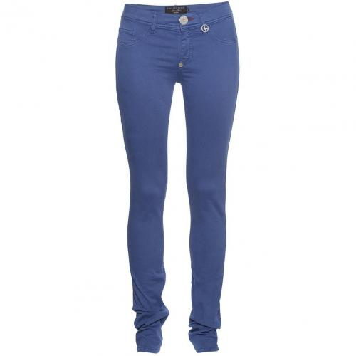 Philipp Plein Jeggings Candy Dark Blue