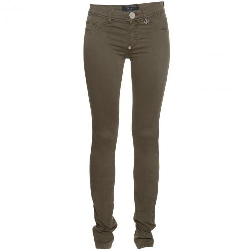 Philipp Plein Jeggings Candy Military