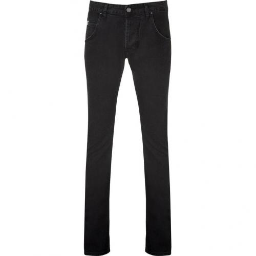 Pierre Balmain Black Engineered Jeans