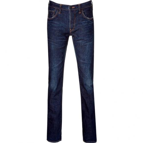 Prps Rinsed Dark Blue Rambler Jeans