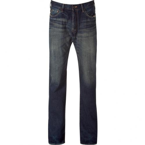 Prps The Baracuda Dark Blue 5 Pocket Jeans