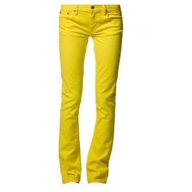 Ralph Lauren blau Label Jeans gelb