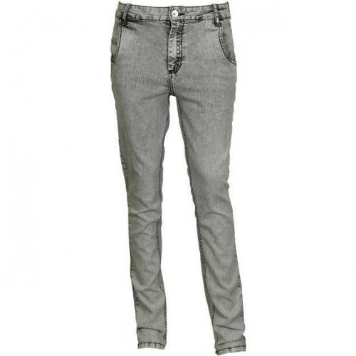 Ready To Fish Jeans Princeton im Bleached-Look black/washed