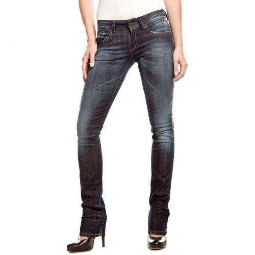 Replay Blondy Jeans Dark Used Straight Fit