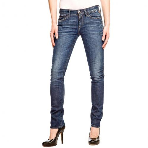 Replay Pearl Jeans Straight Fit Stone Used