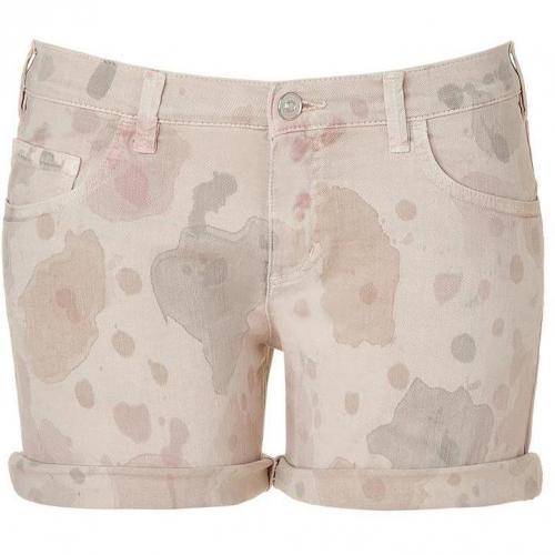 See by Chloe Almond Denim Shorts