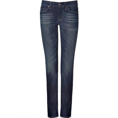 Seven for all Mankind Blue Classic Skinny Roxanne Jeans