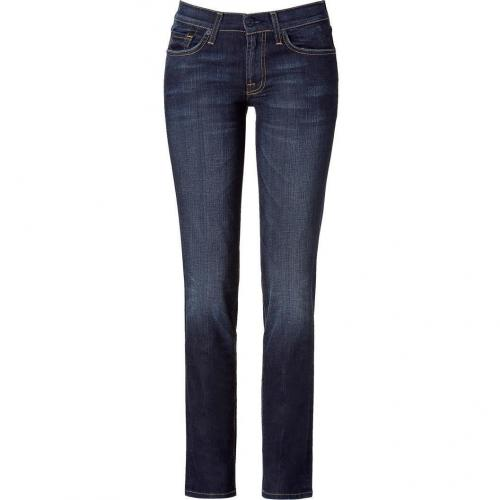 Seven for all Mankind Blue Washed Roxanne Classic Skinny Jeans