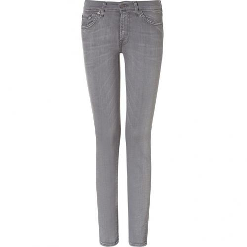 Seven for all Mankind Grey Classic Skinny Roxanne Jeans