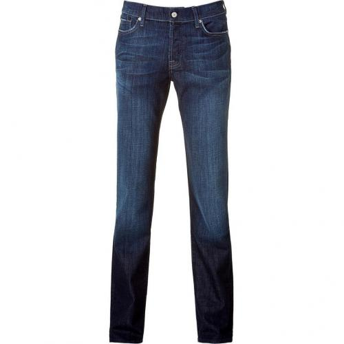 Seven for all Mankind Los Angeles Dark Classic Straight Leg Jeans