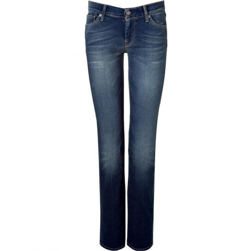 Seven for all Mankind Midnight Miami Straight Leg Jeans