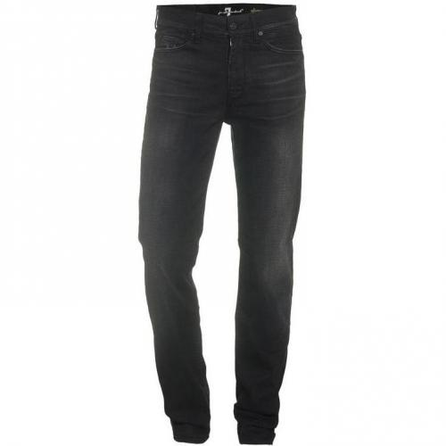 Seven For All Mankind Slimmy Schwarz