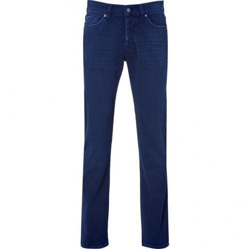 Seven for all Mankind Washed Blue Classic Straight Leg Standard Jeans