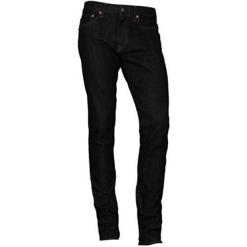 Spurr Jeans Slim mit Leinenanteil indigo