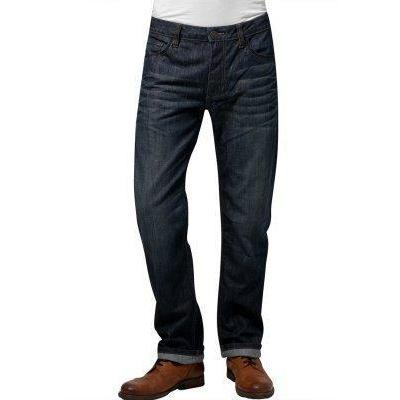 Tom Tailor Jeans dark used look washed denim