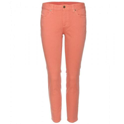 Tory Burch Cropped Skinny Jeans Koralle