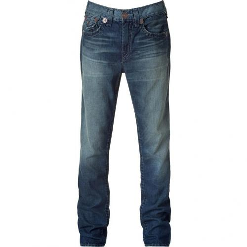 True Religion Blue Washed Vince Super T Jeans