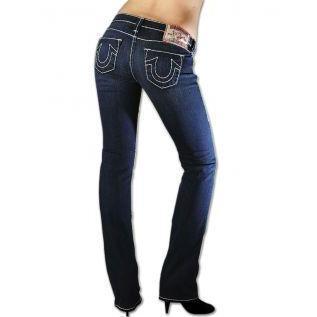 True Religion Damen Jeans Johnny Super T