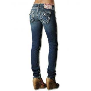 True religion jeans damen grau