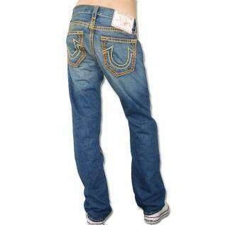 True Religion Herren Jeans Bobby Super QT