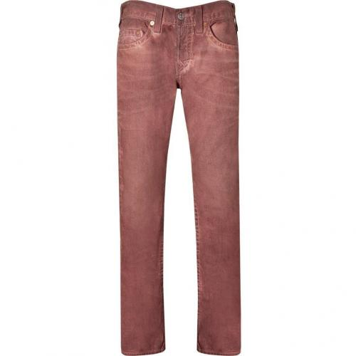 True Religion Mahogany Geo Slim Dusty Ridge Jeans