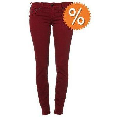 True Religion MISTY SUPER SKINNY Jeans rotwood