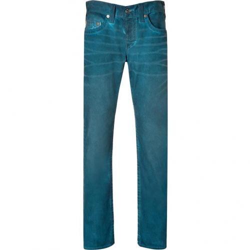 True Religion Peacecock Geo Slim Dusty Ridge Jeans