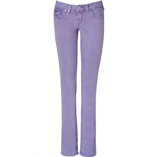 True Religion Purple Super T Billy Jeans