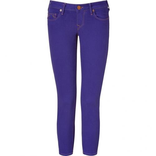 True Religion Wild Orchid Skinny Brooklyn Lonestar Capri Jeans