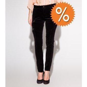 Whiite Jeans schwarz
