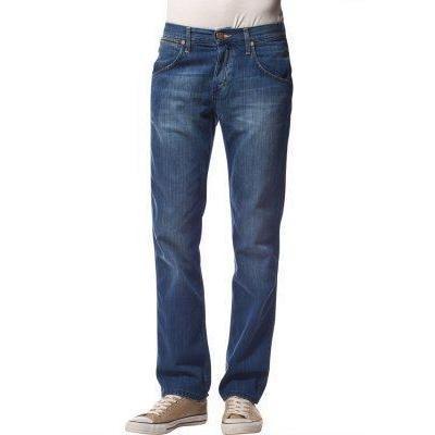 Wrangler CRANK Jeans sporting blau
