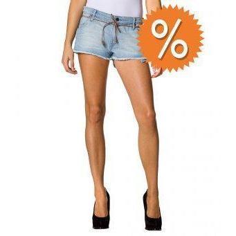 Wrangler Shorts blau
